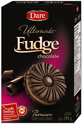 Dare Ultimate Fudge Chocolate Cookies - 290g