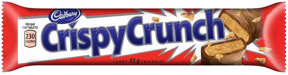 Cadbury Crispy Crunch Chocolate Bars - 4 Pack