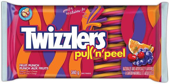 Twizzlers Pull-n-Peel Fruit Punch - 340g