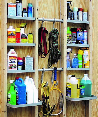 VersaCaddy® Shelving & Hooks Organization Kit