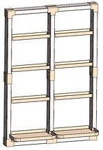 "32"" x 48"" VersaCaddy® Organization Kit with Uni-Frame™"