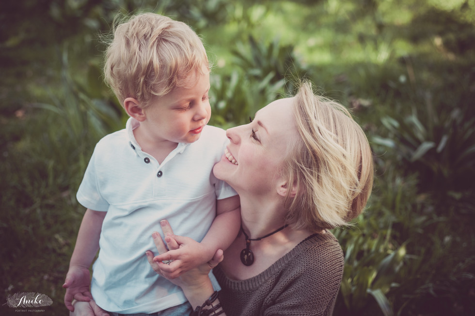 mother and son, family photographer, love, Aniko portrait photographer, kid photographer Horsham