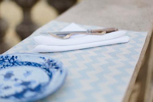 Tischset Leinen Zig Zag