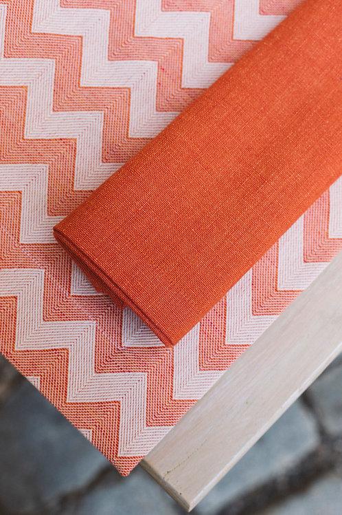 Serviette orange (HL Kalina-Gabriel)
