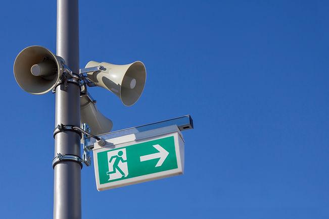 Sprachalarmierung geplant und installiert von EMDION