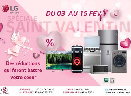 Promotion St Valentin