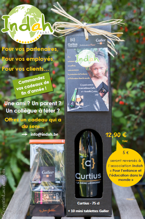 Coffret Curtius & Galler au profit de l'Association Indah