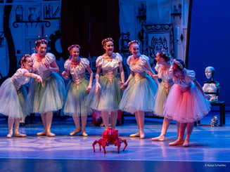 Coppelia with Evergreen City Ballet in collaboration with Seattle Robotic Society