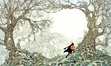 From 'Halloween Forest' - picture book written by Marion Dane Bauer, (Holiday House, USA)