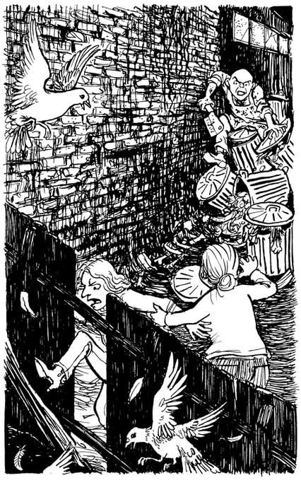 From 'Nasty' by Michael Rosen (Barn Owl Books, UK)