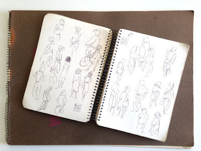 A History of my Archive in 10 Objects. No.10: Tokyo Sketchbook, 1987