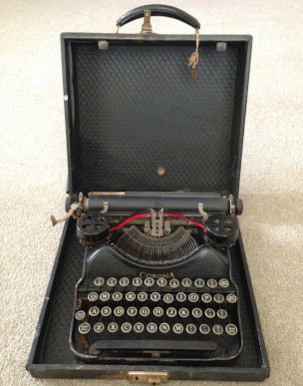 A History of my Archive in 10 Objects. No.4: Corona 4 typewriter, 1924