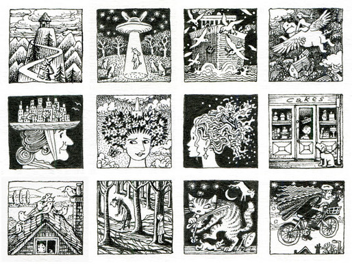 One-inch drawings – the final 12!