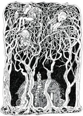 John Shelley inktober 31