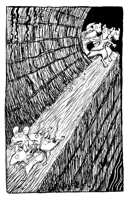 デットフォードのネズミたち  From the 'Deptford Mice' series of books by Robin Jarvis (早川書房 Hayakawa Shobo, Japan)