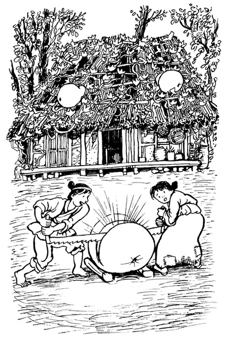 From 'A Purse Full of Tales, Folk Tales from Korea' writers Chan Young Kim & David Carter (Hesperus Press, UK)