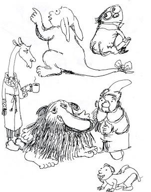 sketchbook fantasies