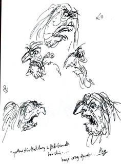 Yolanda sketches