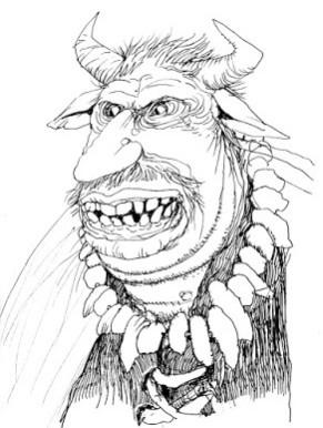 Inktober Day 27: Ogre