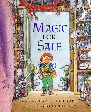 "New picture book release: ""Magic For Sale"""