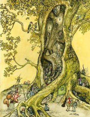 Illustration Friday: Hollow