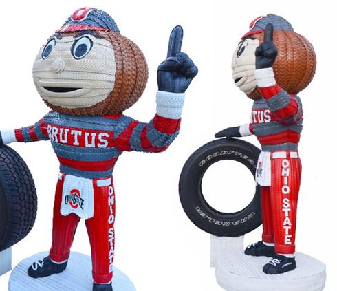 Ohio State's Brutus the Buckeye