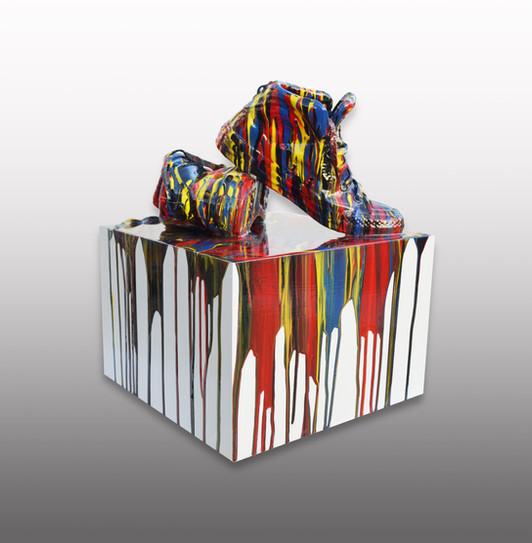 Converse Paint Drip