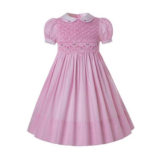 Платье винтажное нежно-розового цвета вар.2