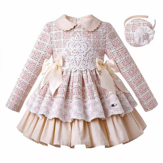 """Платье в стиле """"Шанель"""" для девочки"""