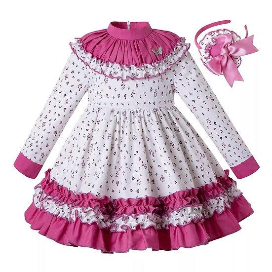 Платье Фантазия белое для девочки