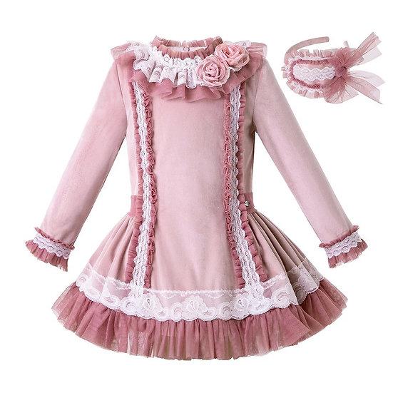 Платье вельветовое для девочки