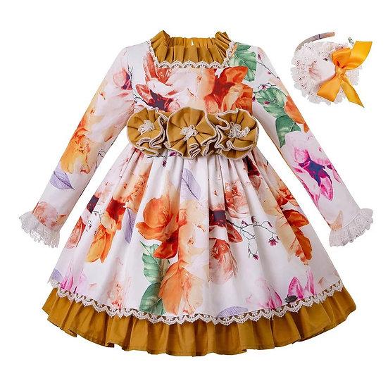 Платье Осень для девочки