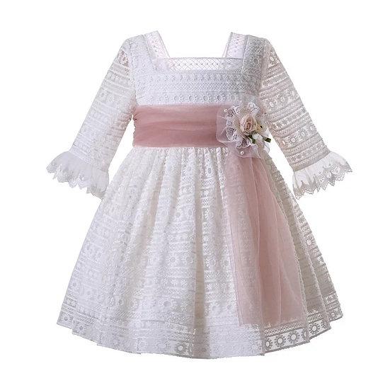 """Платье """"белое кружево"""""""