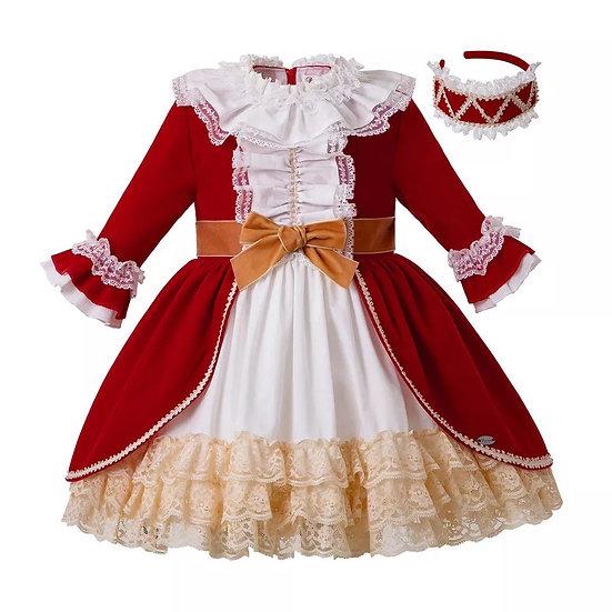Платье Королевское красное