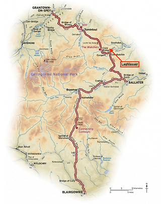Snow Roads Route Map