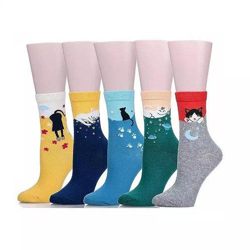 Calcetines gatunos