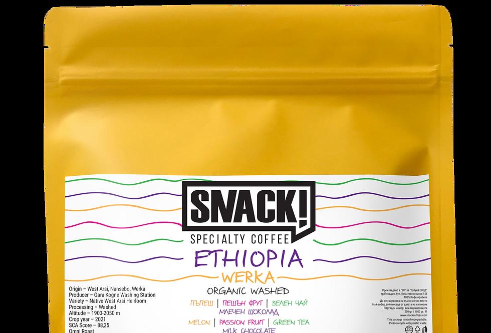 ETHIOPIA - WERKA - ORGANIC