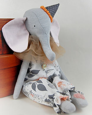 Handmade elephant with hat (1).jpg