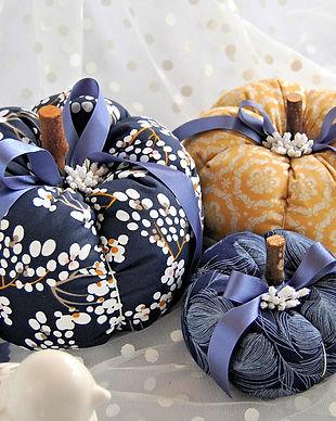 Handmade Pumpkins - Blue & Mustard.jpg