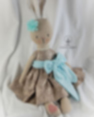 Linen Rabbit in Blue & Brown 1.jpg