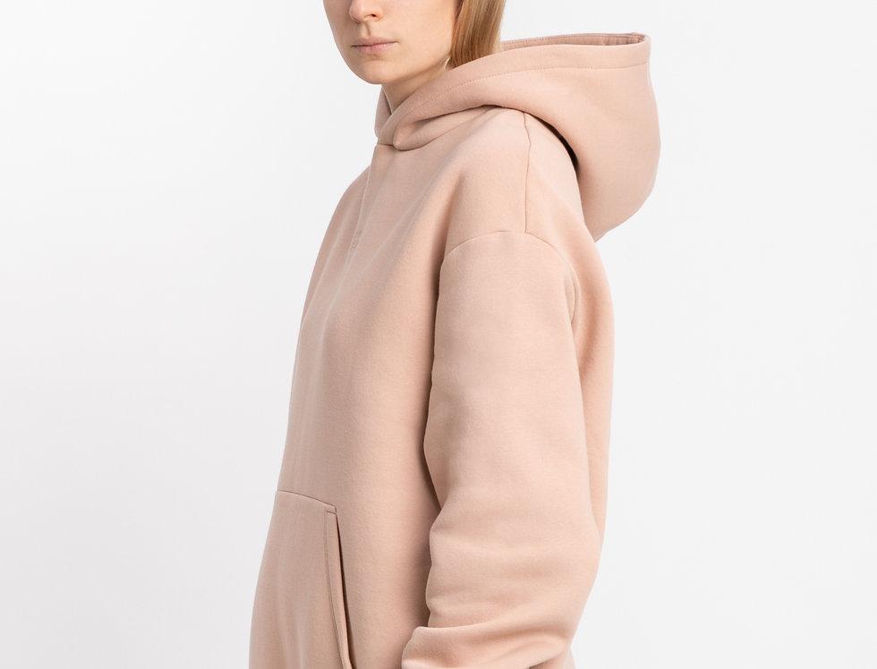 CLASSIC | Nude oversized hoodie