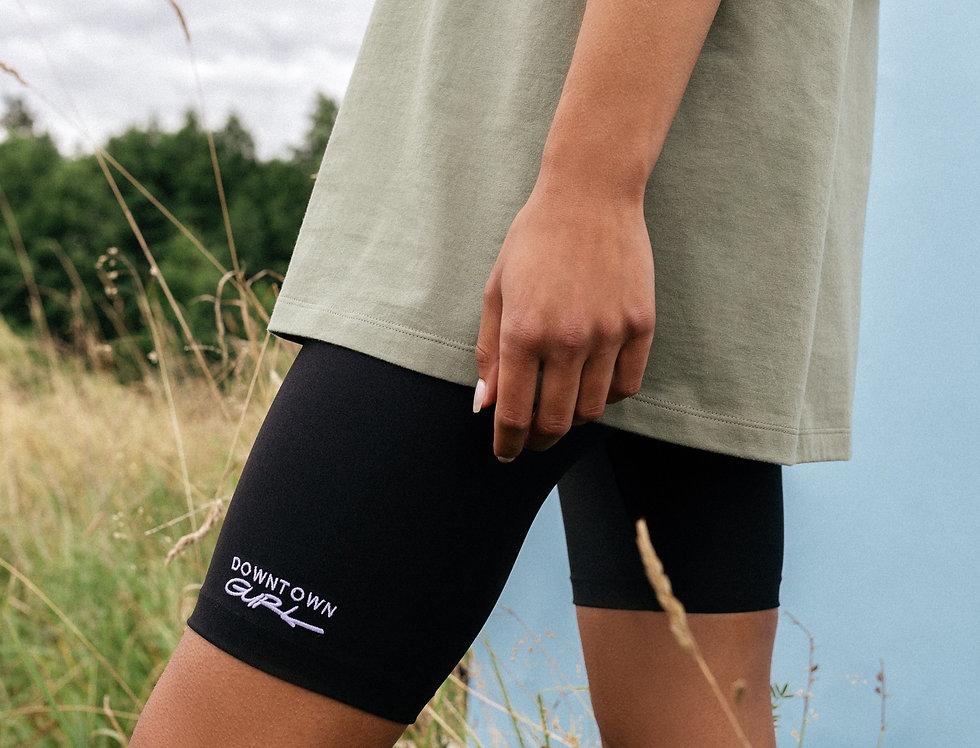 BLACK | Biker shorts