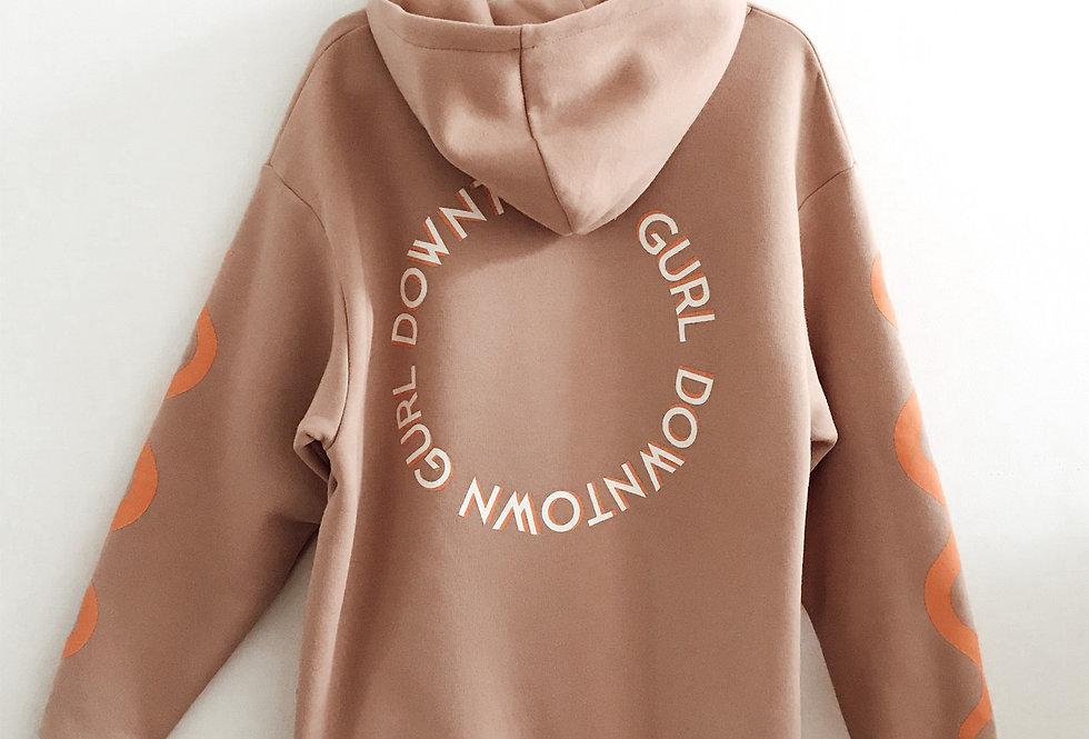 CULTURE | Nude oversized hoodie