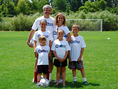 A Volunteer and Her Family are Blessed to be on the On Goal Team