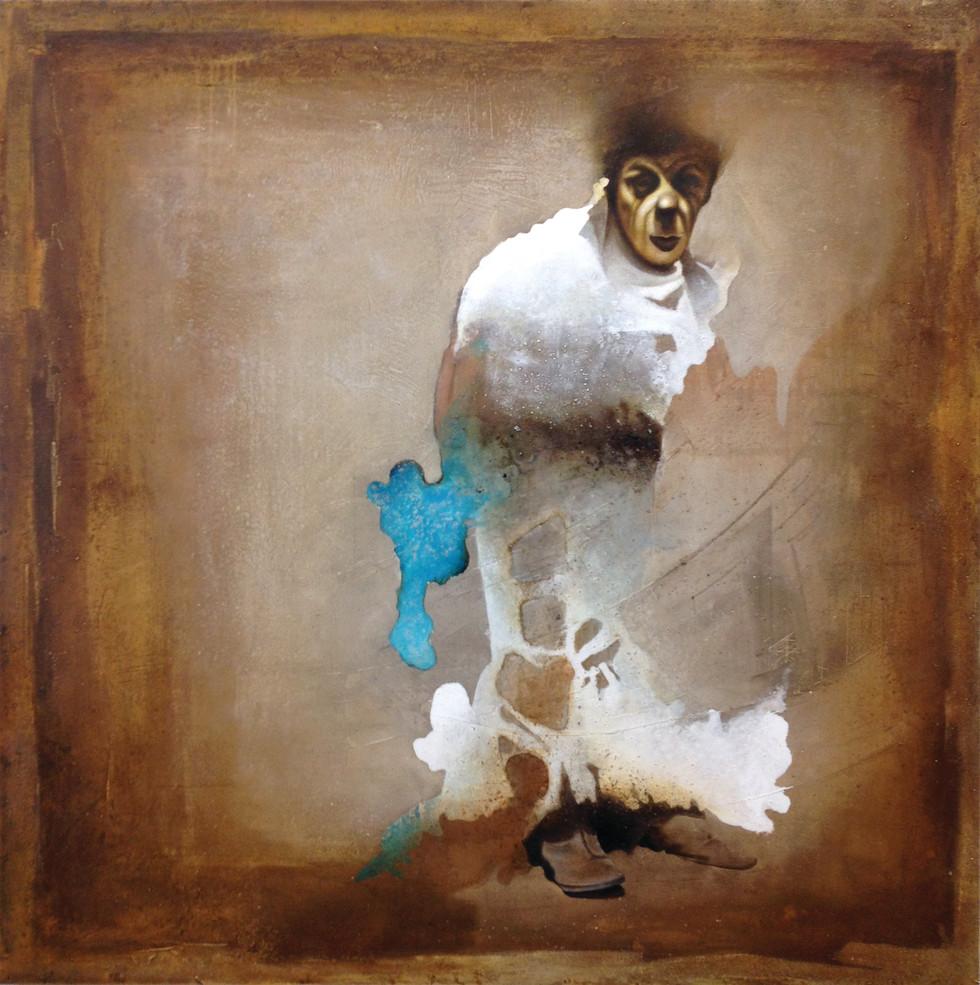 The King (Maliq) 140x140 cm