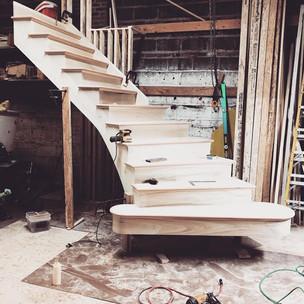 Circular Stairs, Custom Flared Stairs Ci