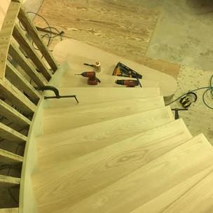 Circular Stairs, Custom Stairs, Cranford