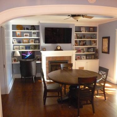 Family Room Remodeled
