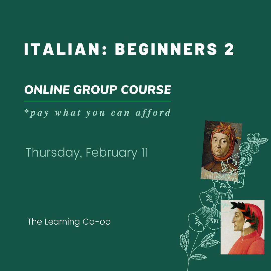 Italian: Group Beginners 2