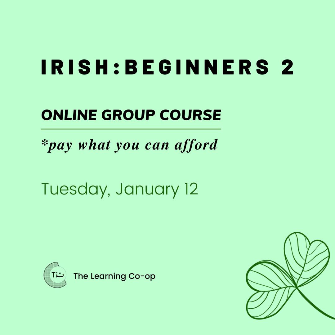 Irish: Group Beginners 2